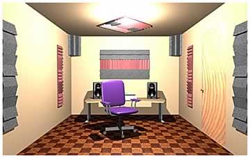 Auralex Room