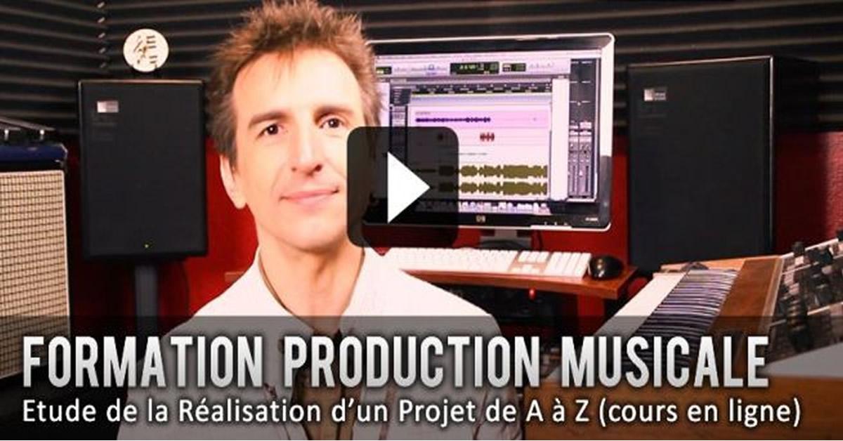 Formation Production Musicale: Etude d'un Projet de AàZ